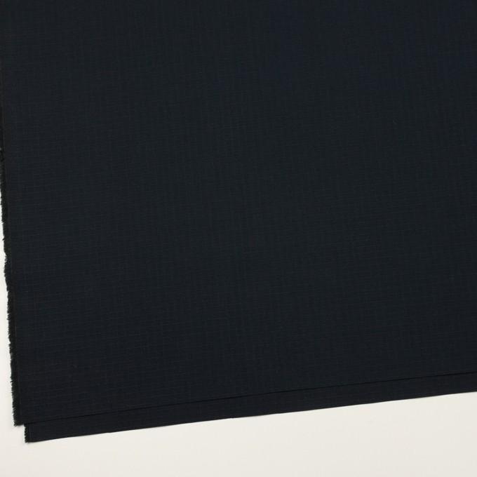 コットン×無地(ダークネイビー)×リップストップ イメージ2