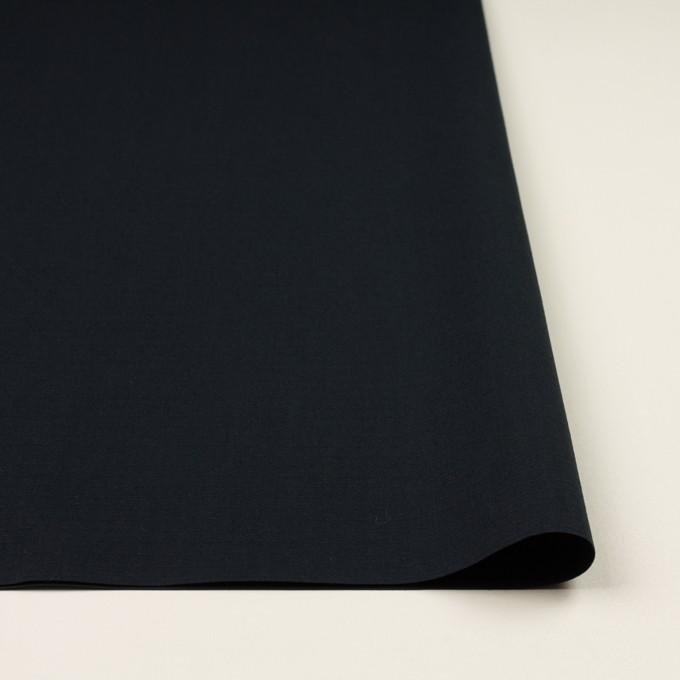 コットン×無地(ダークネイビー)×リップストップ イメージ3