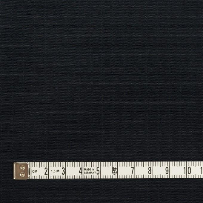 コットン×無地(ダークネイビー)×リップストップ イメージ4