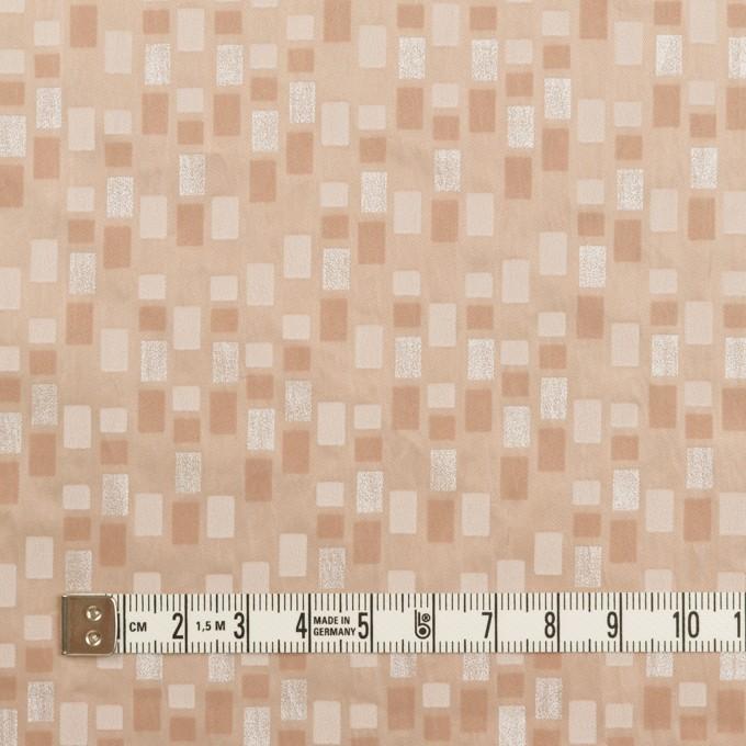 ポリエステル×スクエア(サーモンピンク)×タフタワッシャー_全2色_イタリア製 イメージ4