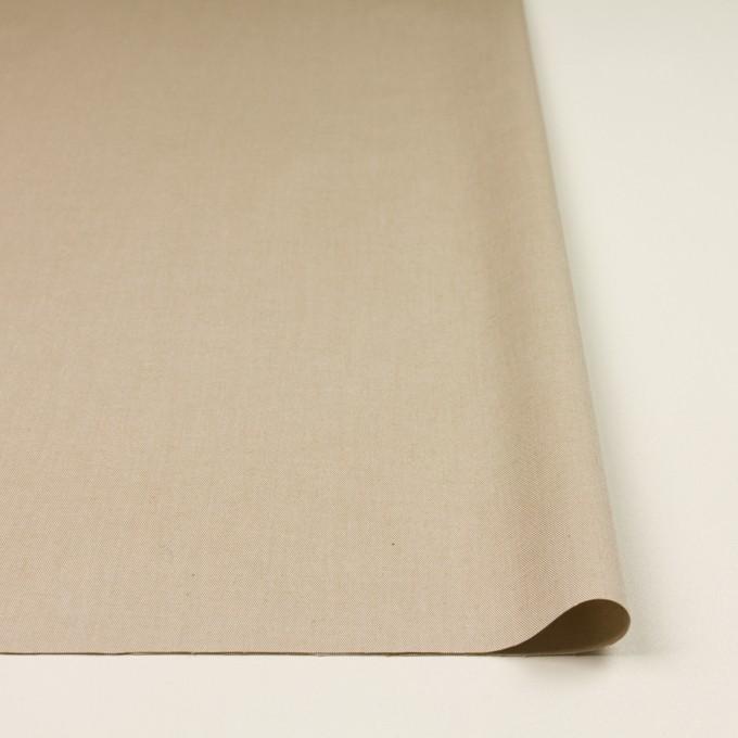 コットン&ポリウレタン×無地(ベージュ)×サージストレッチ_全4色 イメージ3