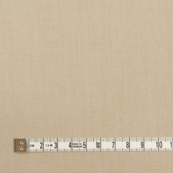 コットン&ポリウレタン×無地(ベージュ)×サージストレッチ_全4色 サムネイル4