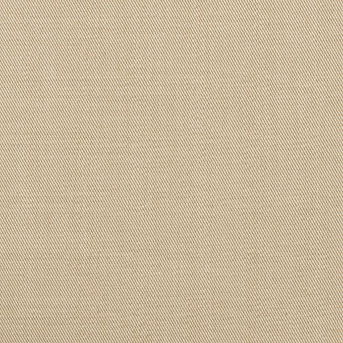 コットン&ポリウレタン×無地(ベージュ)×サージストレッチ_全4色 イメージ1