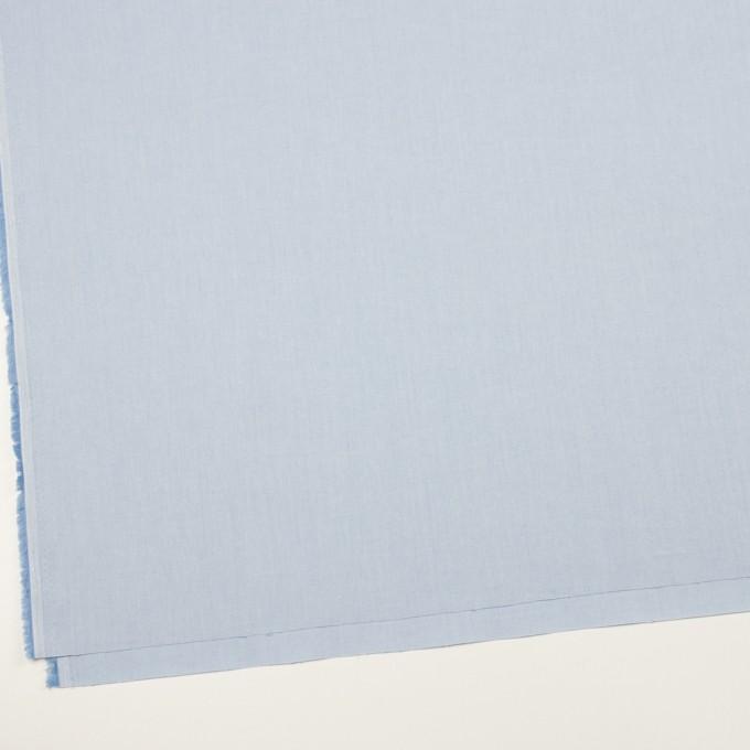 コットン&ポリウレタン×無地(サックス)×サージストレッチ_全4色 イメージ2