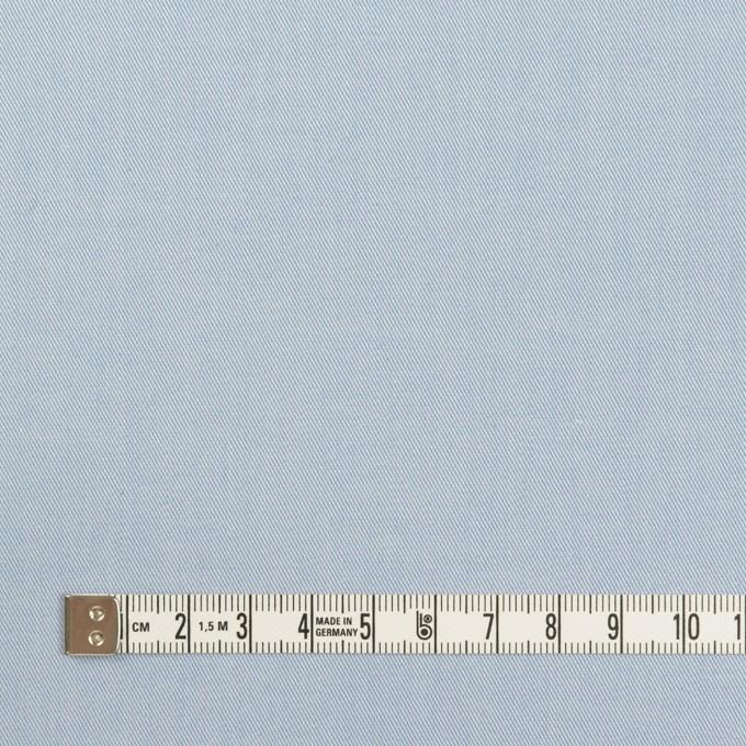コットン&ポリウレタン×無地(サックス)×サージストレッチ_全4色 イメージ4