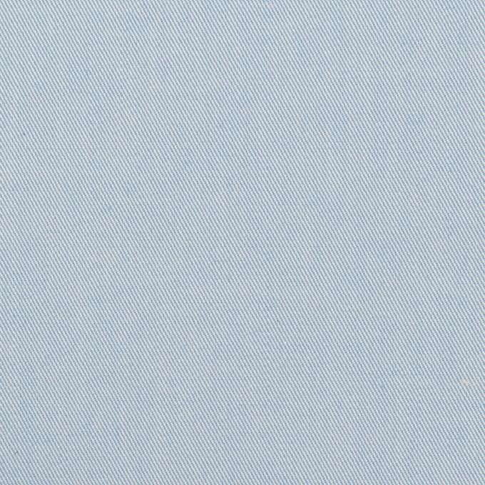 コットン&ポリウレタン×無地(サックス)×サージストレッチ_全4色 イメージ1