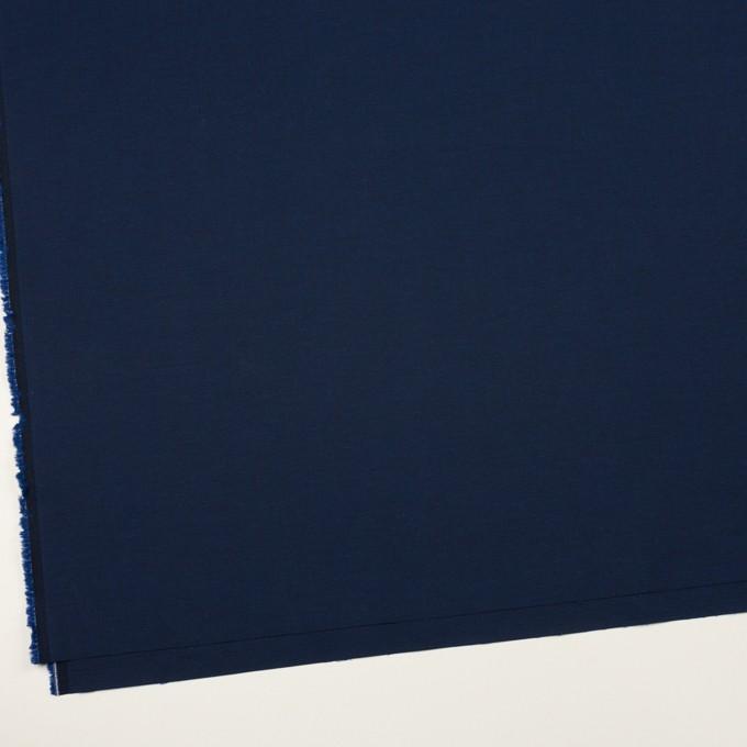コットン&ポリウレタン×無地(ネイビー)×サージストレッチ_全4色 イメージ2
