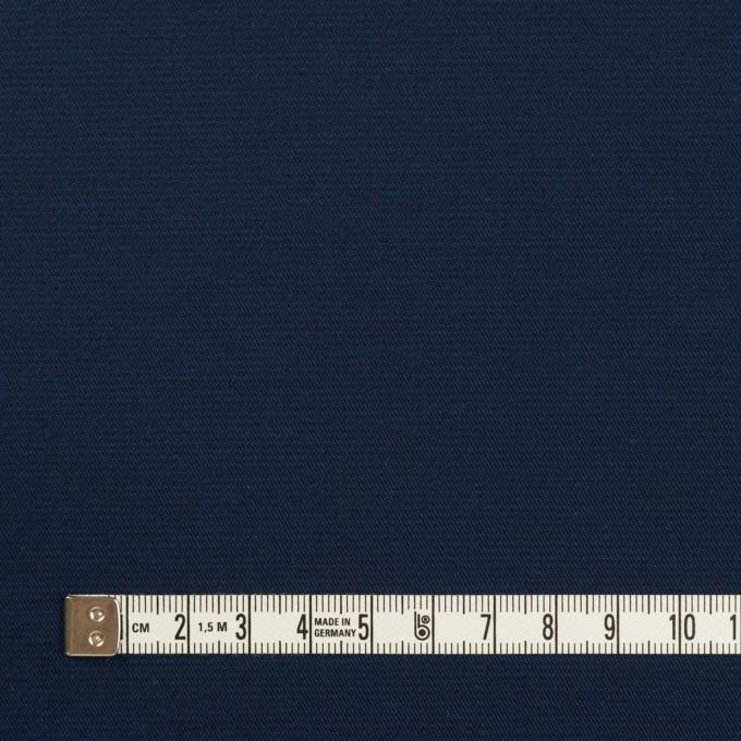 コットン&ポリウレタン×無地(ネイビー)×サージストレッチ_全4色 イメージ4