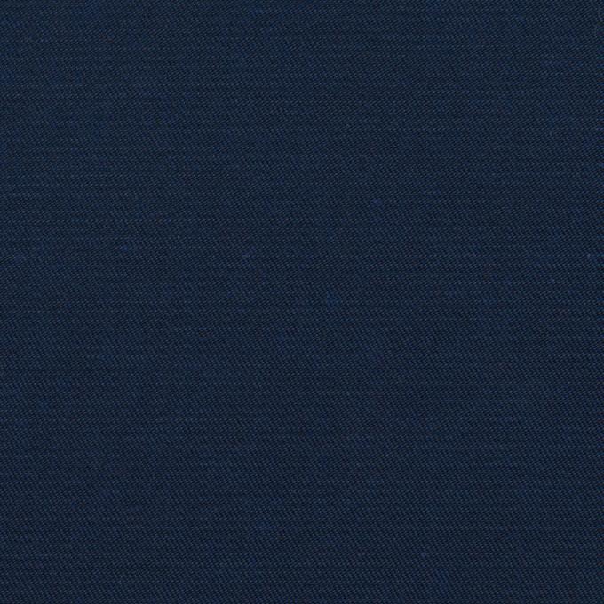 コットン&ポリウレタン×無地(ネイビー)×サージストレッチ_全4色 イメージ1