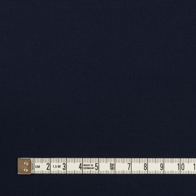 コットン&ポリウレタン×無地(ダークネイビー)×サージストレッチ_全4色 イメージ4