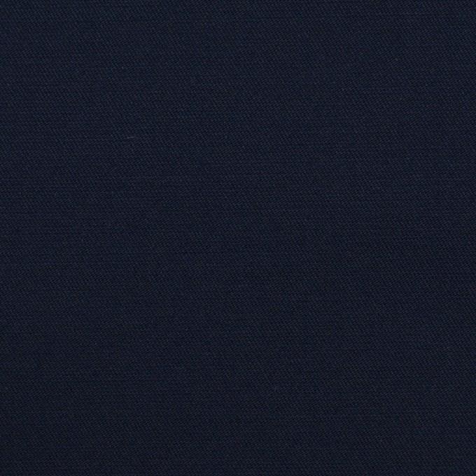 コットン&ポリウレタン×無地(ダークネイビー)×サージストレッチ_全4色 イメージ1