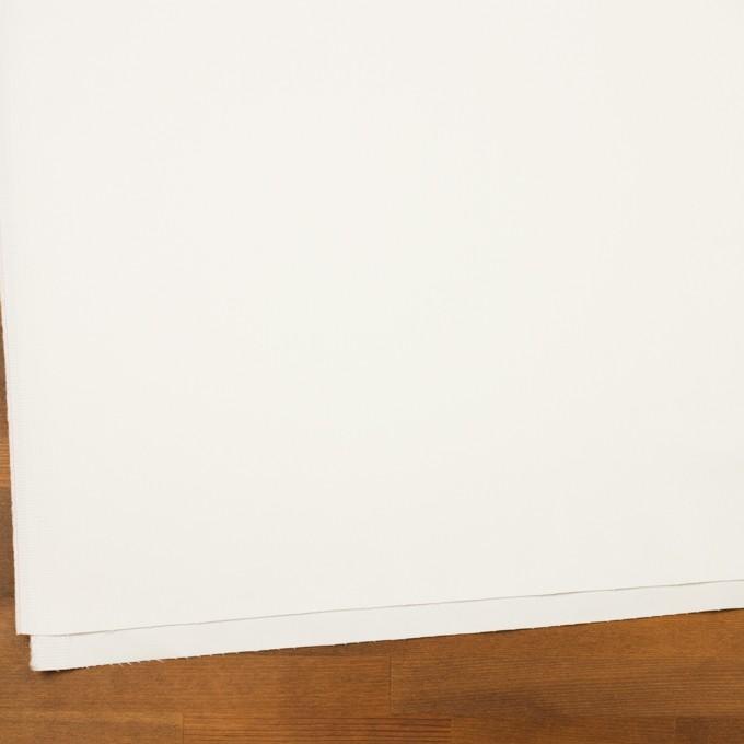 コットン&レーヨン混×無地(ミルク)×サテンストレッチ イメージ2