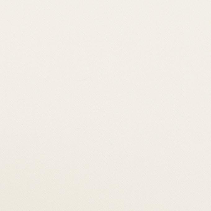 コットン&レーヨン混×無地(ミルク)×サテンストレッチ イメージ1