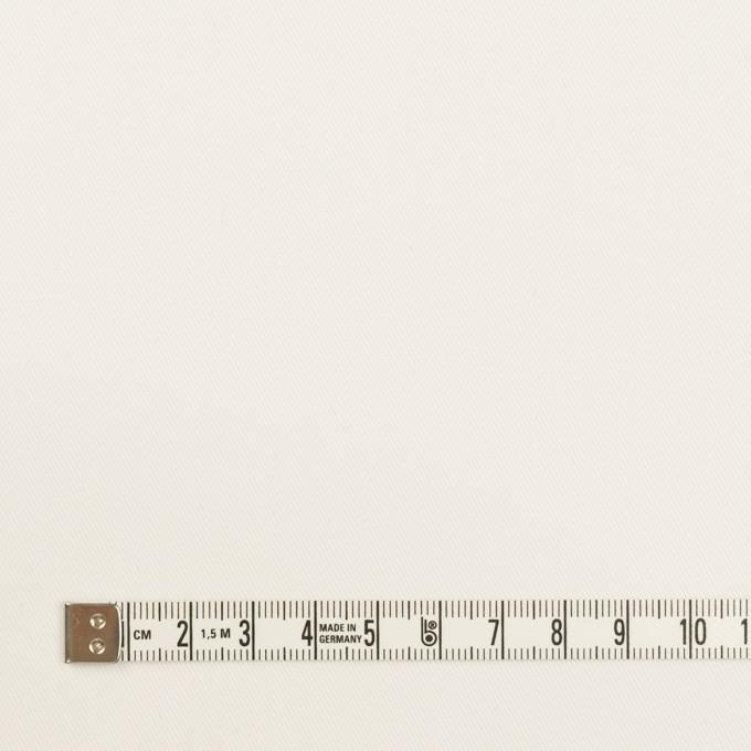 コットン&ポリウレタン×無地(オフホワイト)×チノクロス・ストレッチ イメージ4