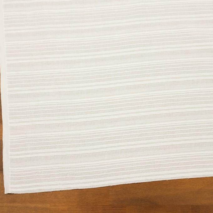コットン×ボーダー(オフホワイト)×ピンタック イメージ2
