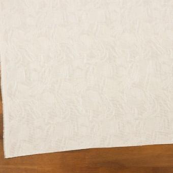 コットン×幾何学模様(エクリュ)×からみ織ジャガード サムネイル2