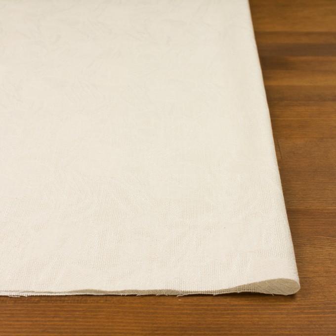 コットン×幾何学模様(エクリュ)×からみ織ジャガード イメージ3
