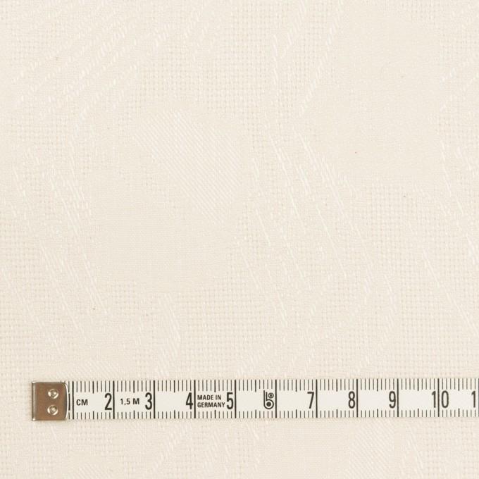 コットン×幾何学模様(エクリュ)×からみ織ジャガード イメージ4