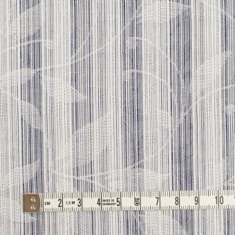 コットン×ストライプ(ネイビー)×ジャガード_全2色 サムネイル4