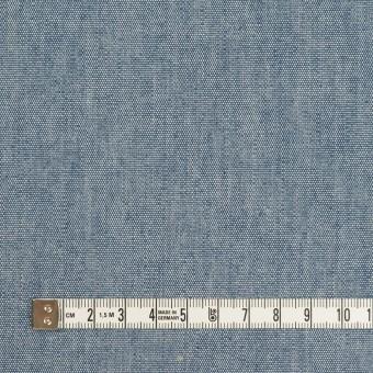 コットン×無地(インディゴブルー)×セルビッチ・キャンバス サムネイル4