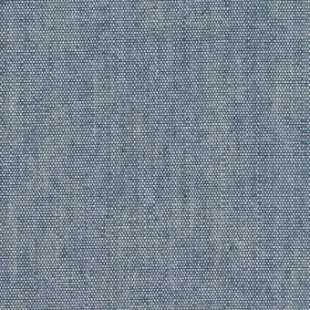 コットン×無地(インディゴブルー)×セルビッチ・キャンバス