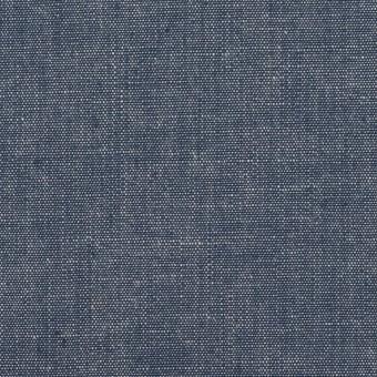 コットン×無地(インディゴブルー)×セルビッチ・キャンバス サムネイル1