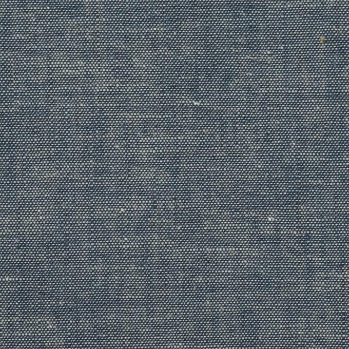 コットン×無地(インディゴ)×セルビッチ・ダンガリー イメージ1