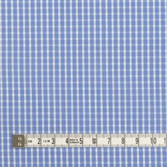 コットン×チェック(ヒヤシンスブルー)×ブロード サムネイル4