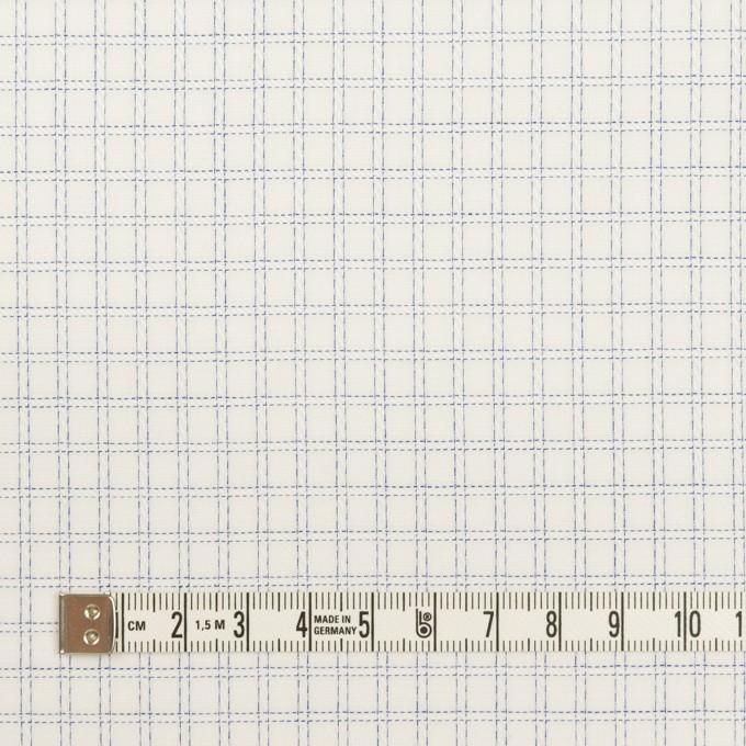 コットン×チェック(ブルー)×ジャガード イメージ4