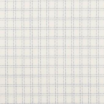 コットン×チェック(ブルー)×ジャガード サムネイル1