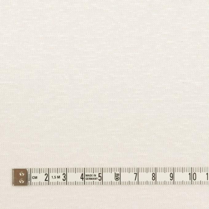 リネン×無地(オフホワイト)×天竺ニット_全2色 イメージ4