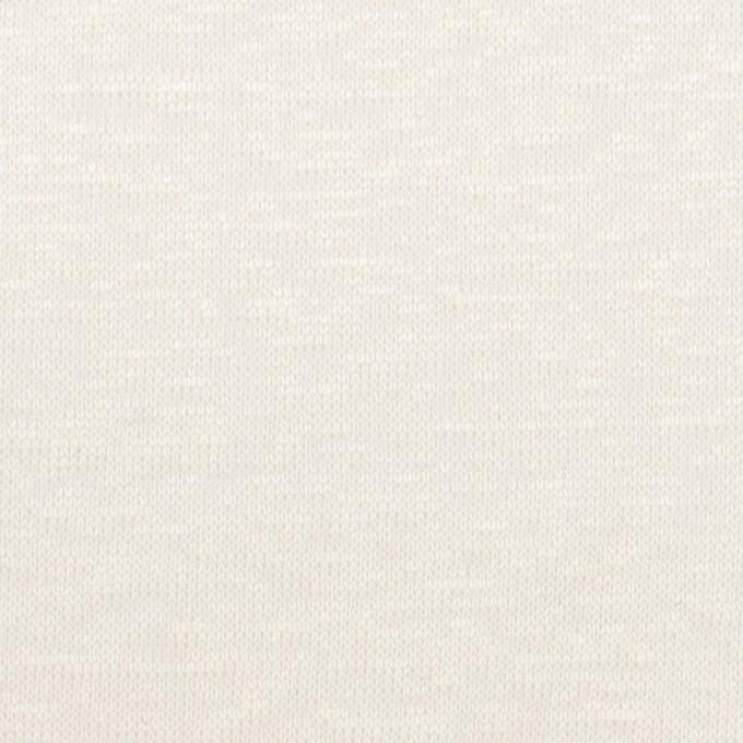 リネン×無地(オフホワイト)×天竺ニット_全2色 イメージ1