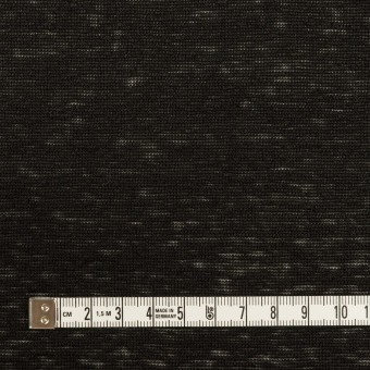 リネン×無地(ブラック)×天竺ニット_全2色 サムネイル4