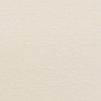 リネン&レーヨン×無地(アイボリー)×天竺ニット_全2色