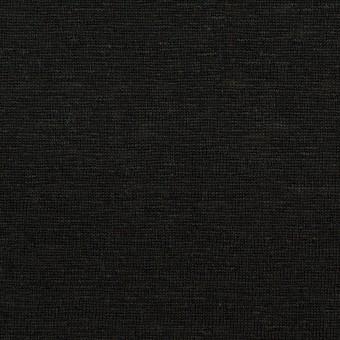 リネン&レーヨン×無地(ブラック)×天竺ニット_全2色