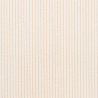 コットン×ストライプ(ベージュ)×サッカー サムネイル1