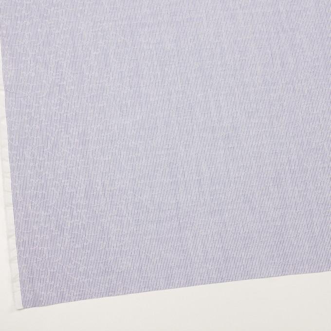 コットン&ポリエステル×ストライプ(ブルー)×ジャガード イメージ2