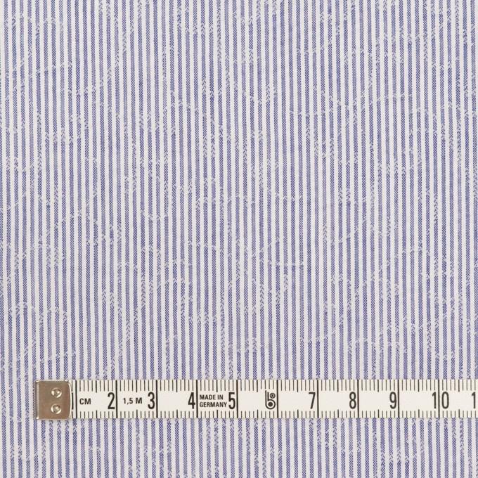 コットン&ポリエステル×ストライプ(ブルー)×ジャガード イメージ4