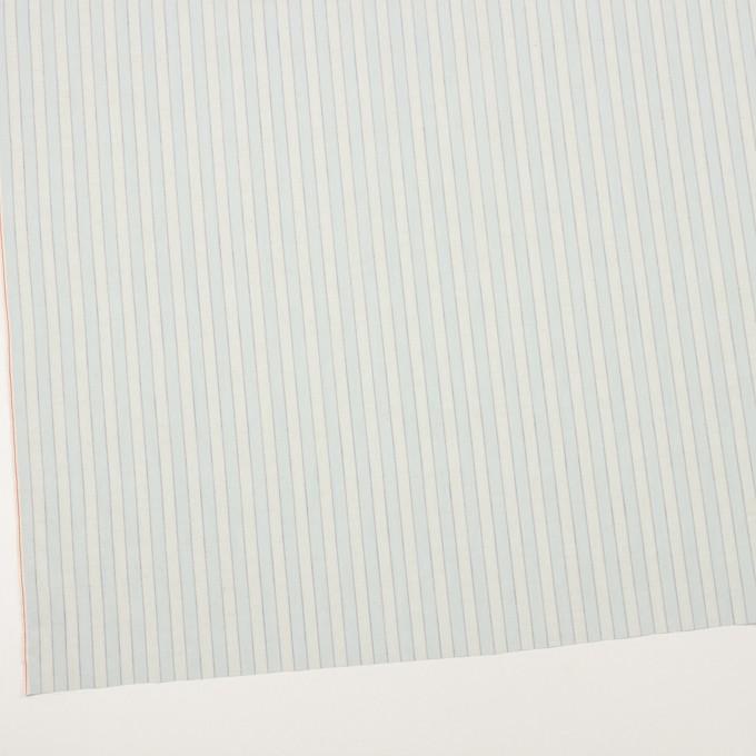 コットン×ストライプ(アイスブルー)×薄シーチング イメージ2