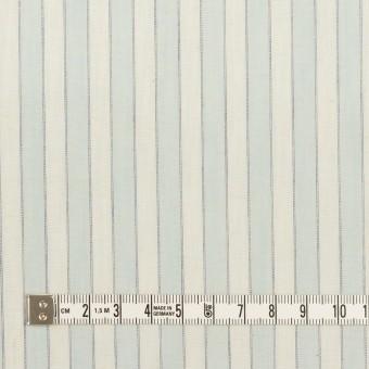 コットン×ストライプ(アイスブルー)×薄シーチング サムネイル4