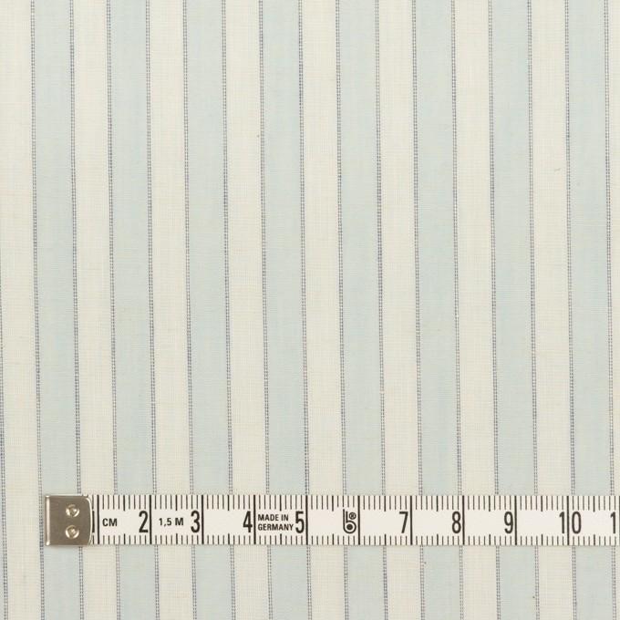 コットン×ストライプ(アイスブルー)×薄シーチング イメージ4