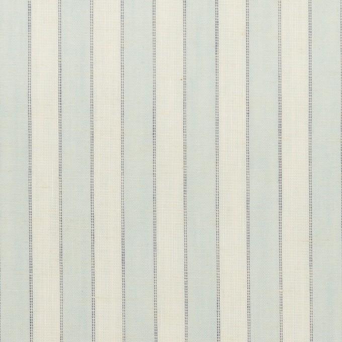 コットン×ストライプ(アイスブルー)×薄シーチング イメージ1