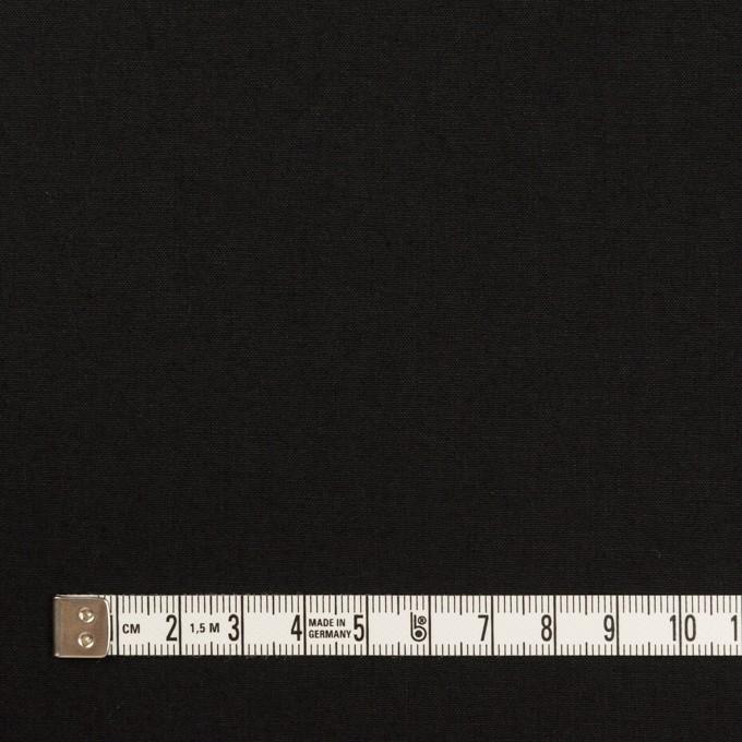 コットン&リネン×無地(ブラック)×高密ポプリン イメージ4