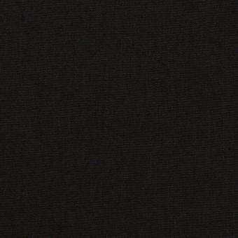 コットン&リネン×無地(ブラック)×高密ポプリン
