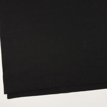 リネン&コットン×無地(ブラック)×キャンバス サムネイル2