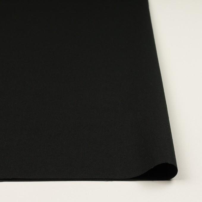 リネン&コットン×無地(ブラック)×キャンバス イメージ3