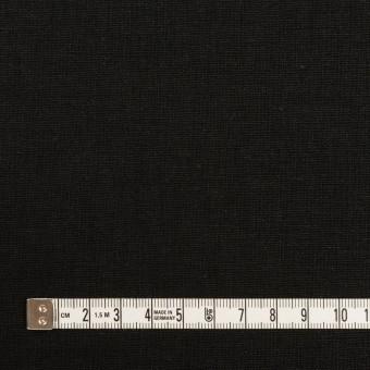 リネン&コットン×無地(ブラック)×キャンバス サムネイル4