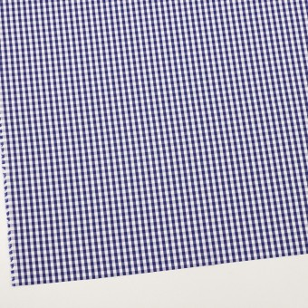 コットン×チェック(プルシアンブルー)×ブロード_全2色 サムネイル2