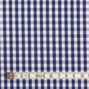 コットン×チェック(プルシアンブルー)×ブロード_全2色 サムネイル4