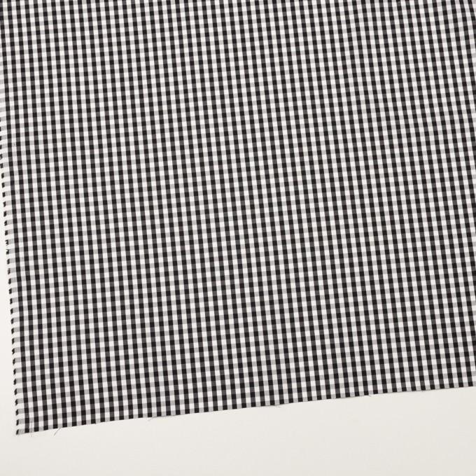 コットン×チェック(ブラック)×ブロード_全2色 イメージ2